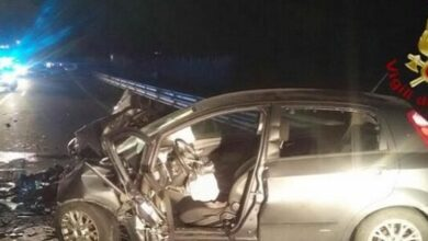 Photo of Incidente a Grazzanise, scontro frontale: muore 20enne